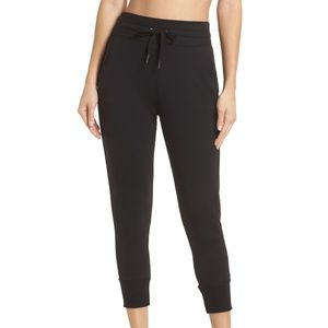 Zella Repeat Crop High Waist Jogger Pant